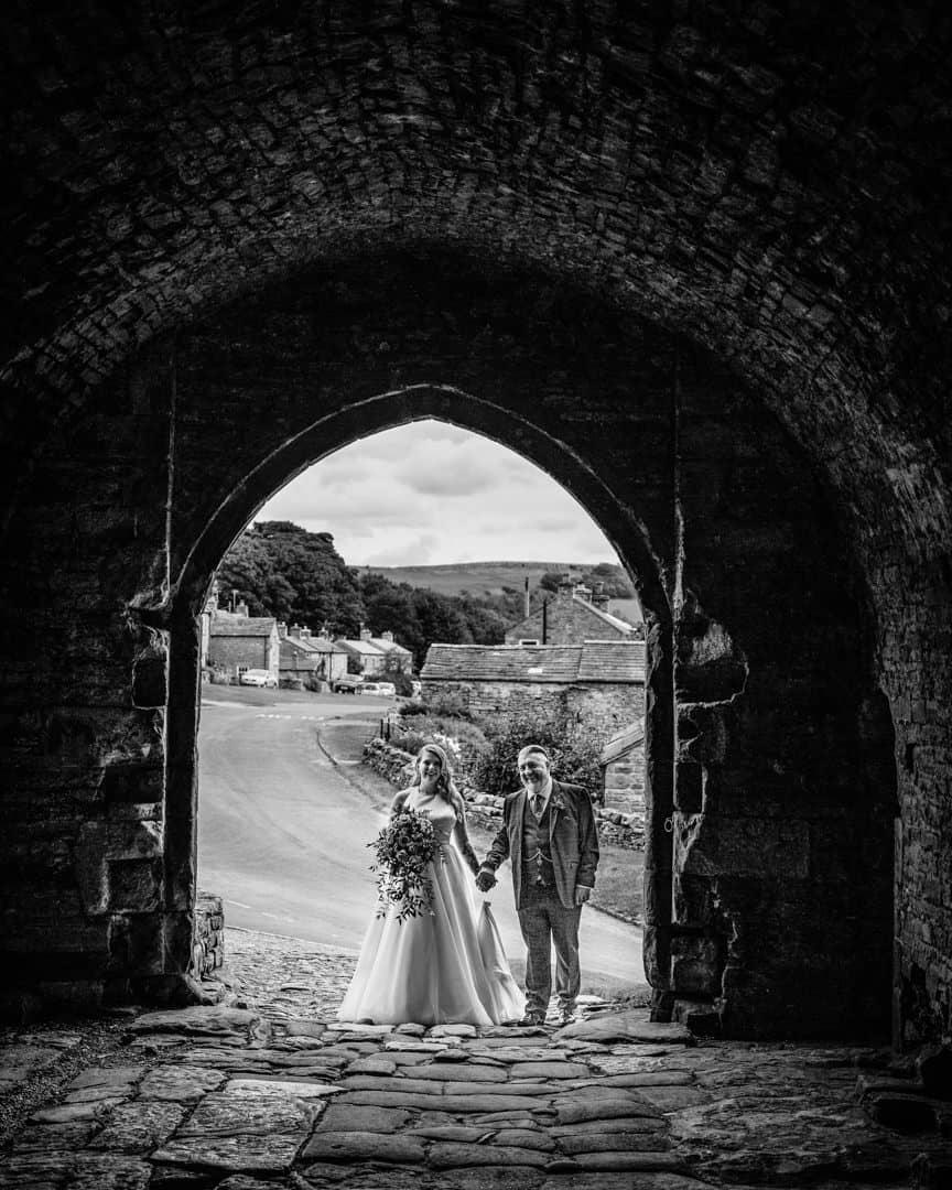 Halifax Wedding photography | Bolton castle wedding photographer