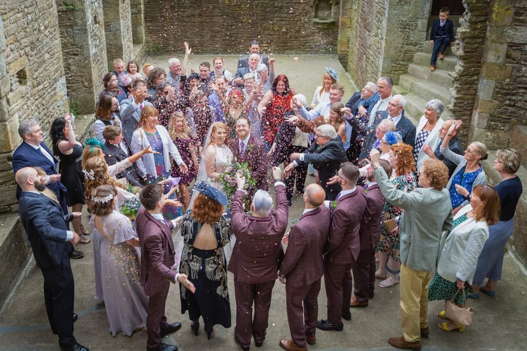 Bolton castle wedding photographer | Leeds wedding photographer
