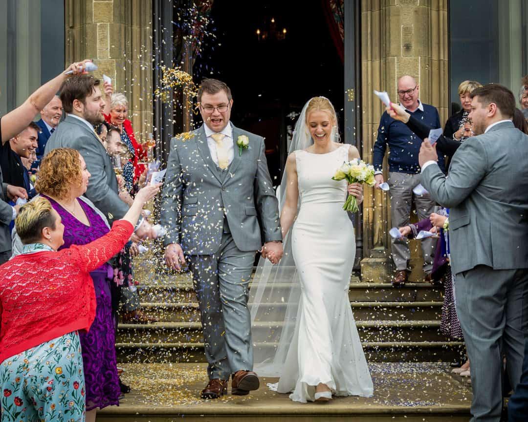 Allerton Castle wedding photographer | Leeds wedding photographers