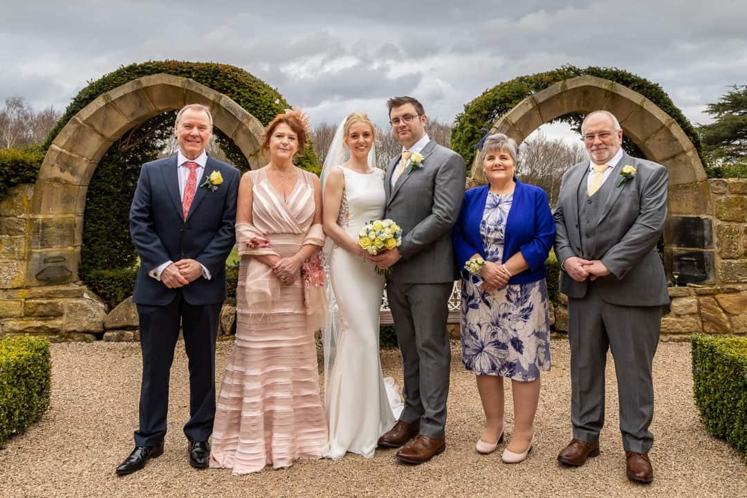 Yorkshire wedding photographer | Allerton Castle wedding photographer