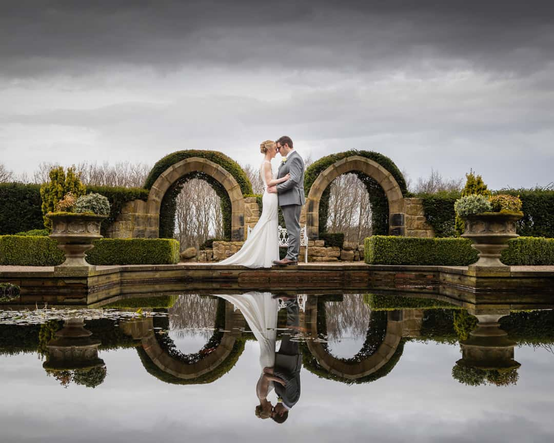 Allerton Castle wedding photographer | York wedding photographer